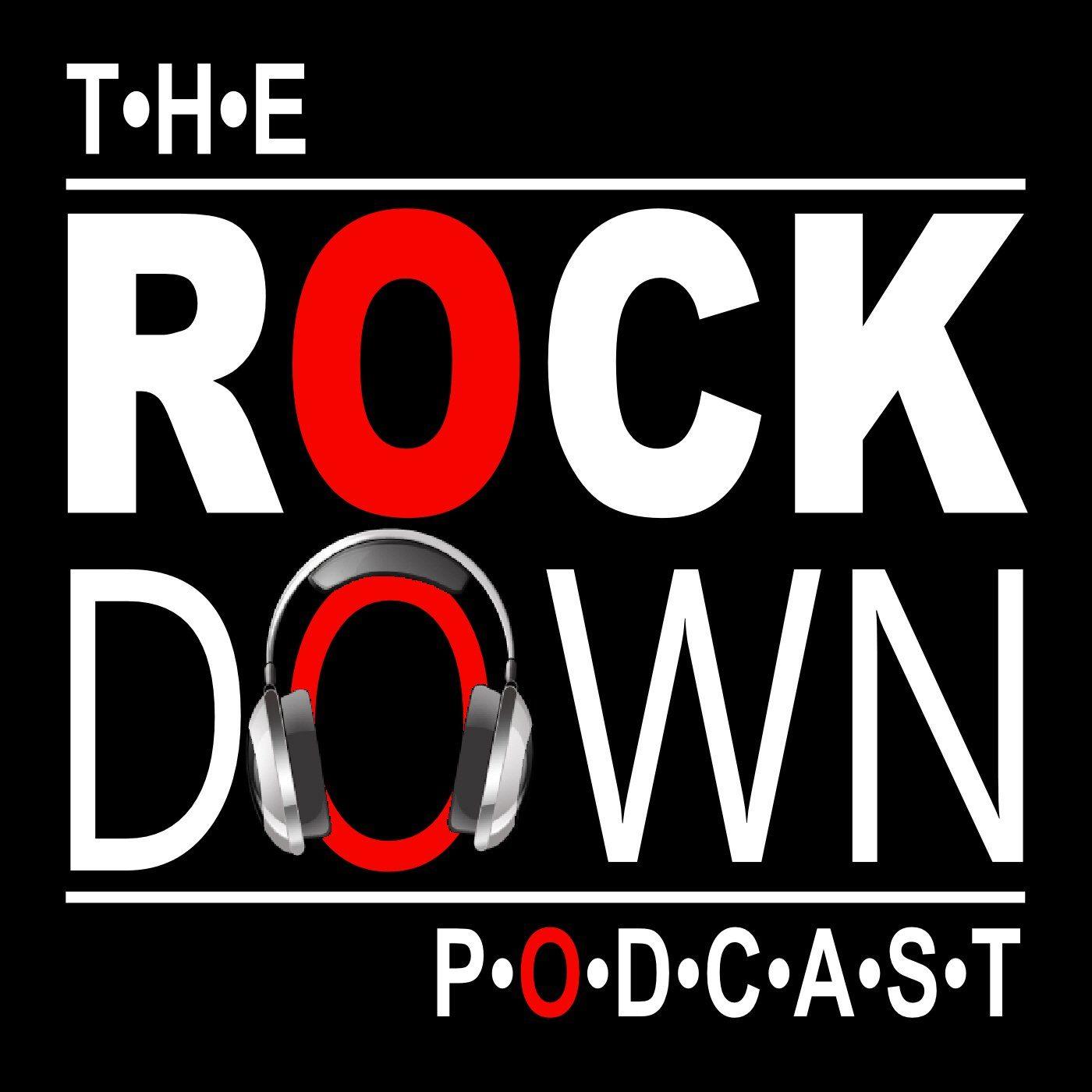 Logo for The RockDown Podcast